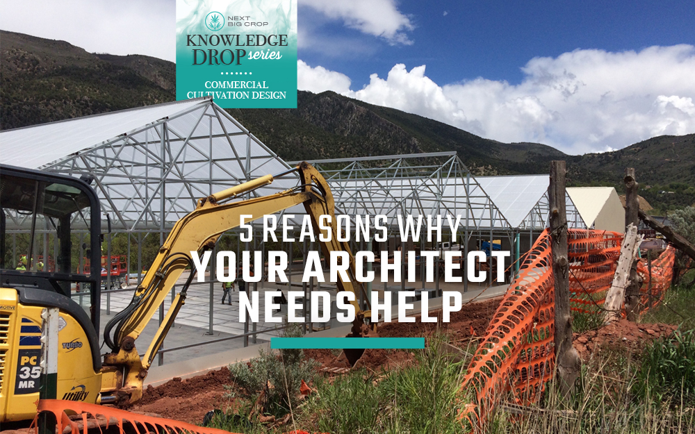 5 Reasons Why Your Architect Needs Help Designing Your Cultivation Facility